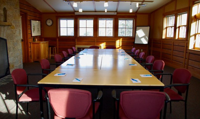 Schlitz Audubon Conference Room